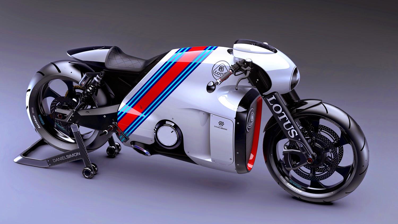 Motor de las Lotus Motorcycles C-01