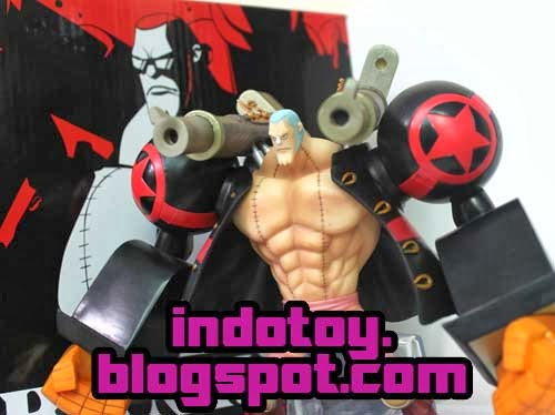 Jual Action Figure Figuarts Zero One Piece Film Z - Franky