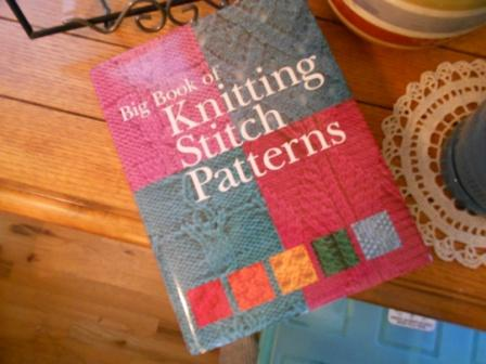Big Book Of Knitting Stitch Patterns Free Download : Knitting and Sewing My Way Through Life: Trying A New Knitting Stitch Pattern