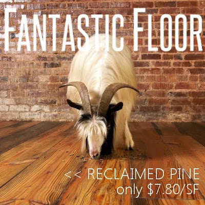 Reclaimed Heart Pine Flooring