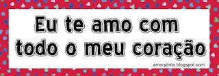 te amo con todo mi corazon en portugues