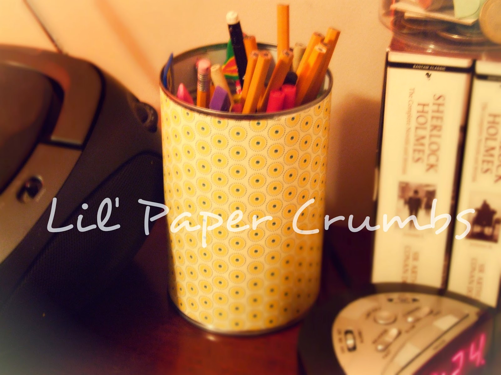 Pencil Holder - Lil' Paper Crumbs