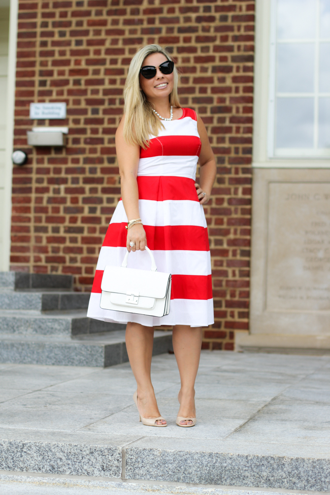 Ana In Style: Red Stripes  Dress Ideas