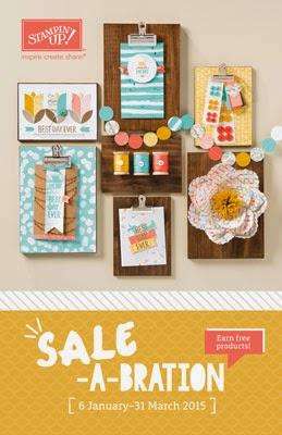 Sale-A-Bration folder