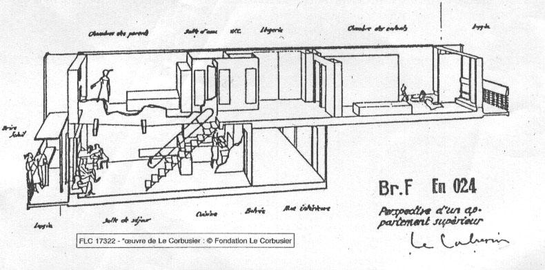 Unite d 39 habitation marseille snobbery fields for Plans de maison d habitation