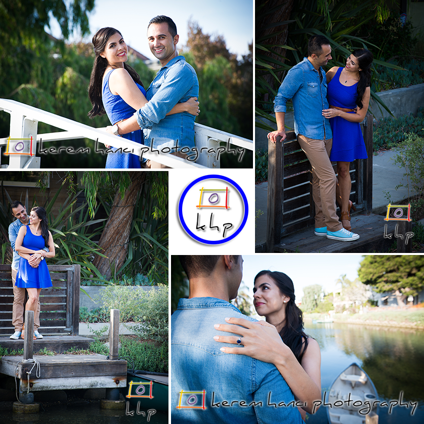 Venice Canals is one of the most romantic spots to shoot an Engagement Session in Los Angeles