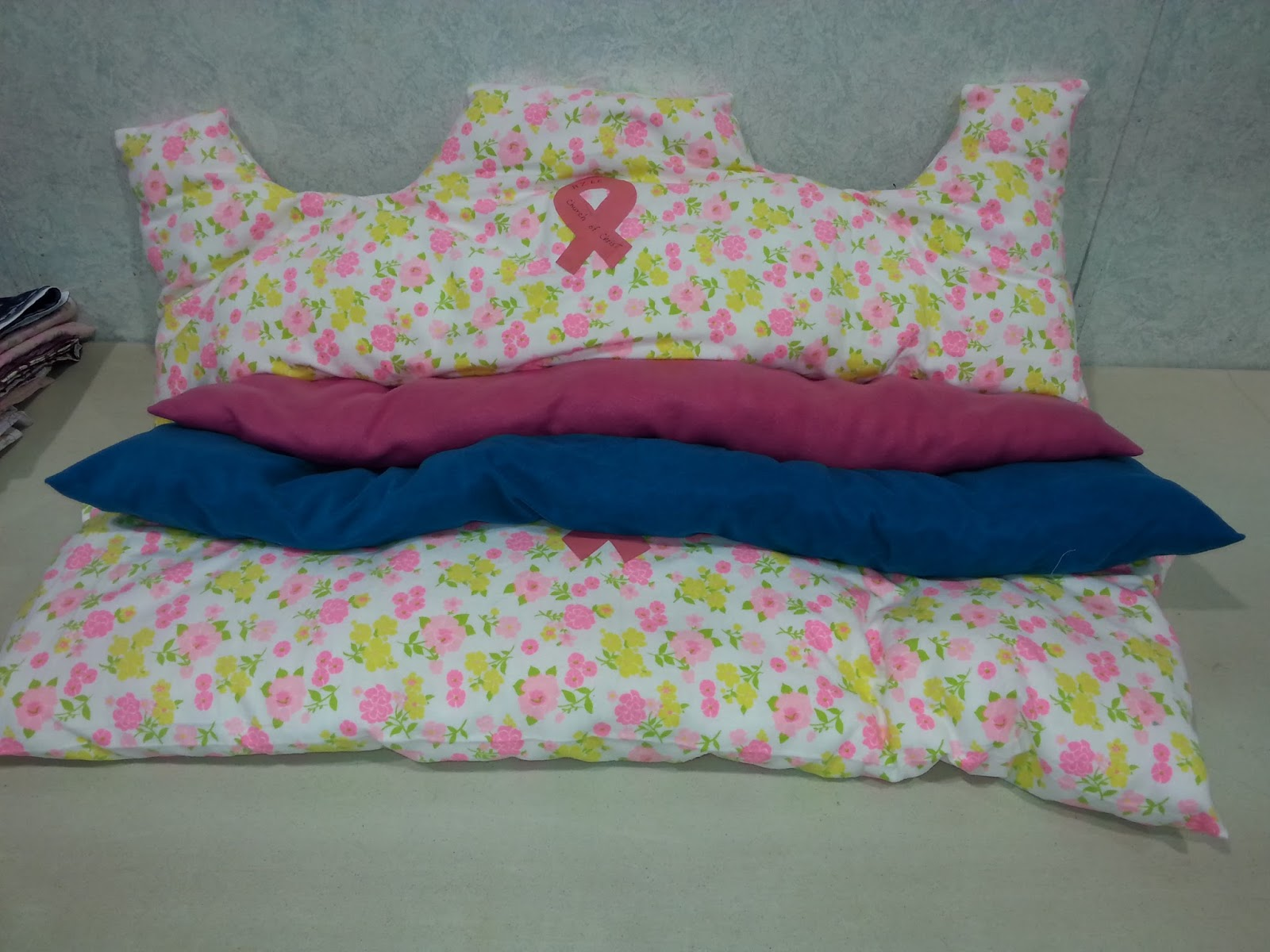 Quilts Unlimited Breast Cancer And Cardiac Pillows