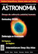 """W lipcowym numerze ASTRONOMII  mój artykuł """"Zwierzęta w kosmosie - krótka historia"""""""