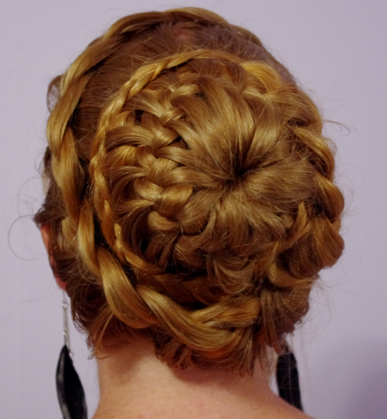 Braids Amp Hairstyles For Super Long Hair Fancy Braided Bun