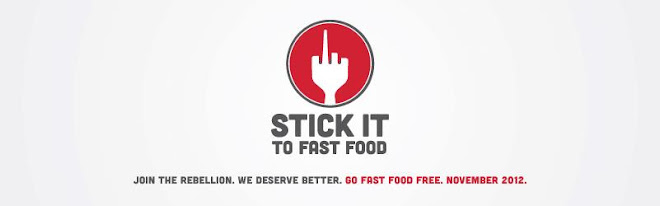 Stick It To Fast Food
