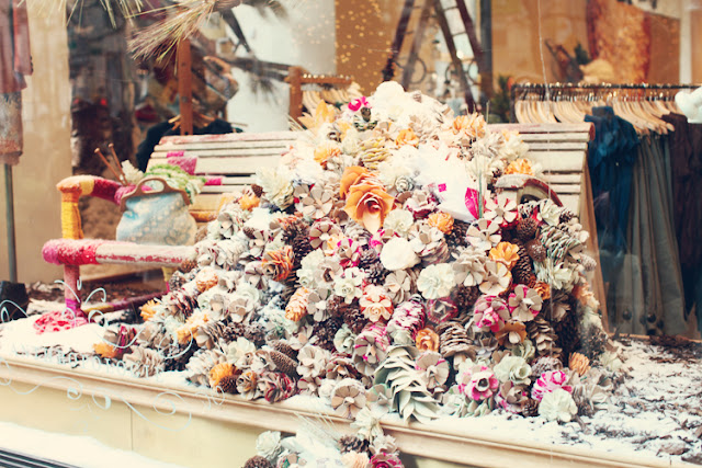 Dreamy Whites: Christmas in New York City and Anthropologie