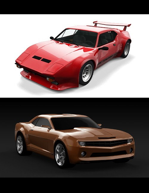 3d Models - Real Cars - Render Realistic Cars In DS