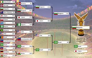 Coppa del Mondo di Quidditch 2014: finali