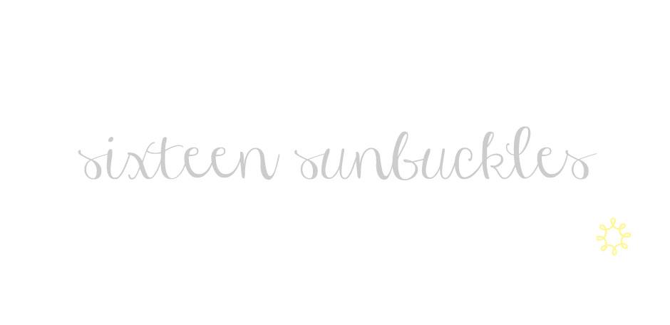 sixteen sunbuckles