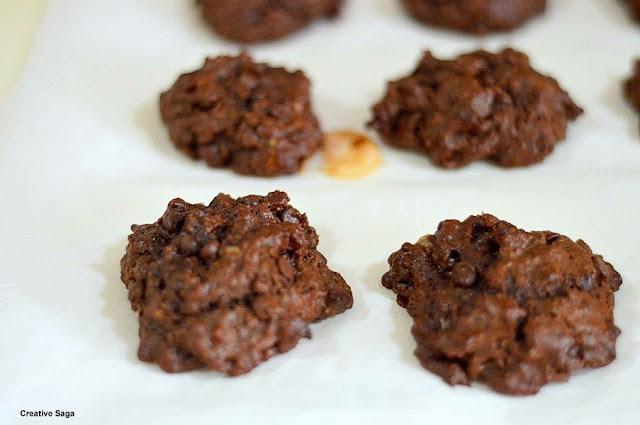 chocolate banana oatmeal cookies recipe