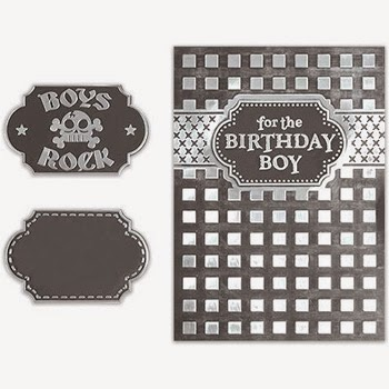Spellbinders Interchangeable Embossing Folder Waffle Iron SBIF-009