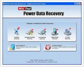 Mengembalikan Data Disk Yang Hilang