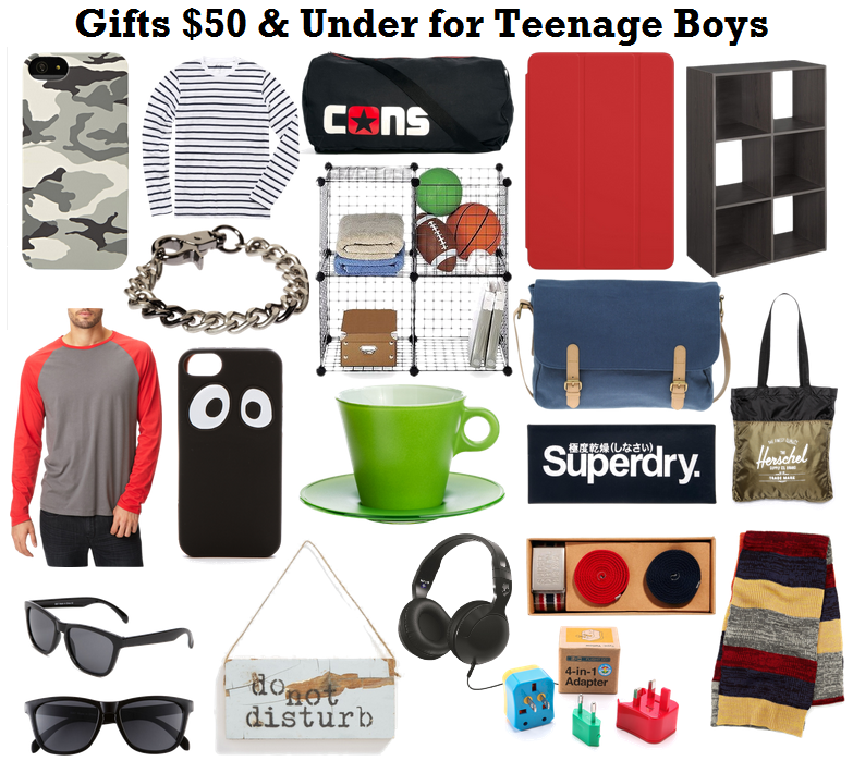 Gifts for teen guys and