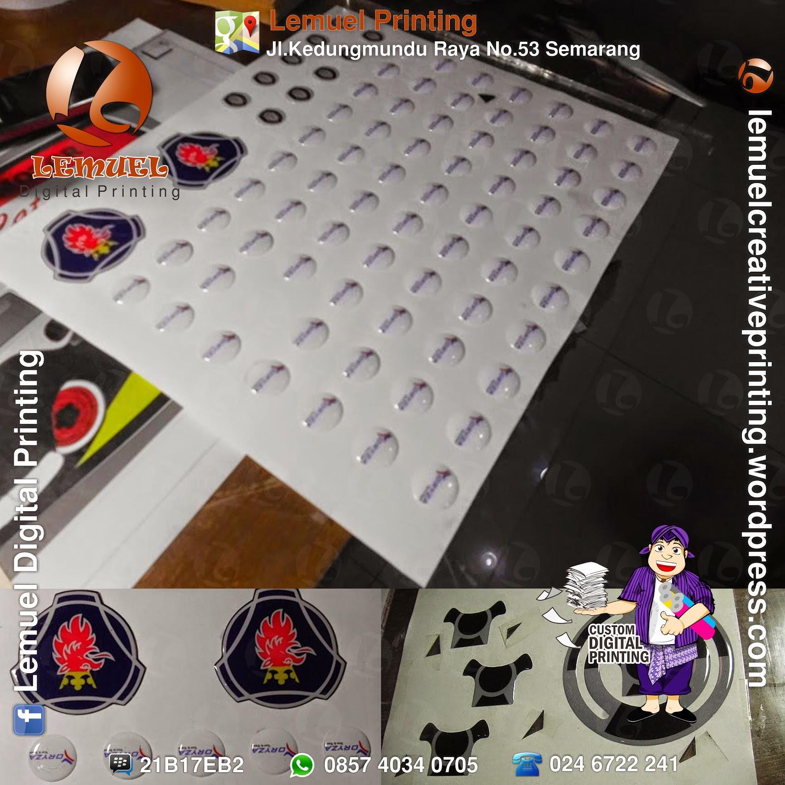 Dome sticker barometer sticker digital apparel digital dan
