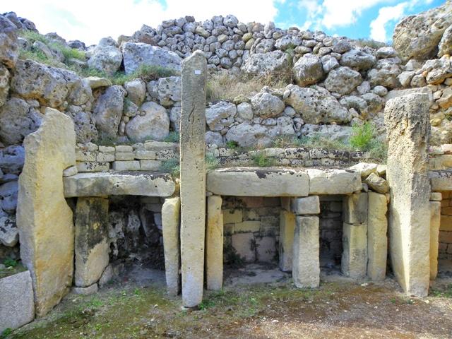 Templos de Ggantija en la isla de Gozo, megalitos con milenios de historia