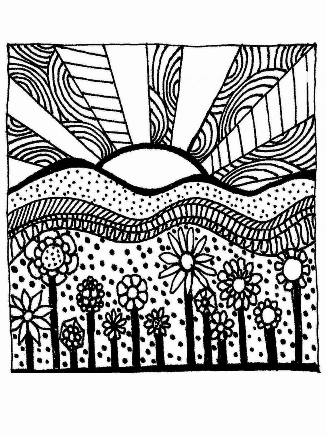Coloring activities for seniors - Printable Coloring Pages For Adults Coloringpages321