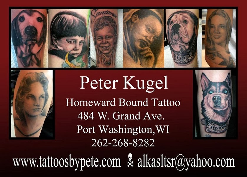 Tattoos by Peter Kugel