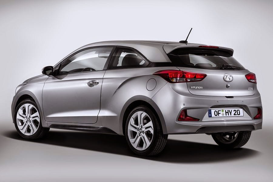 Hyundai i20 Coupe (2015) Rear Side