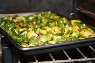 Maple Syrup Bacon Brussels Sprouts