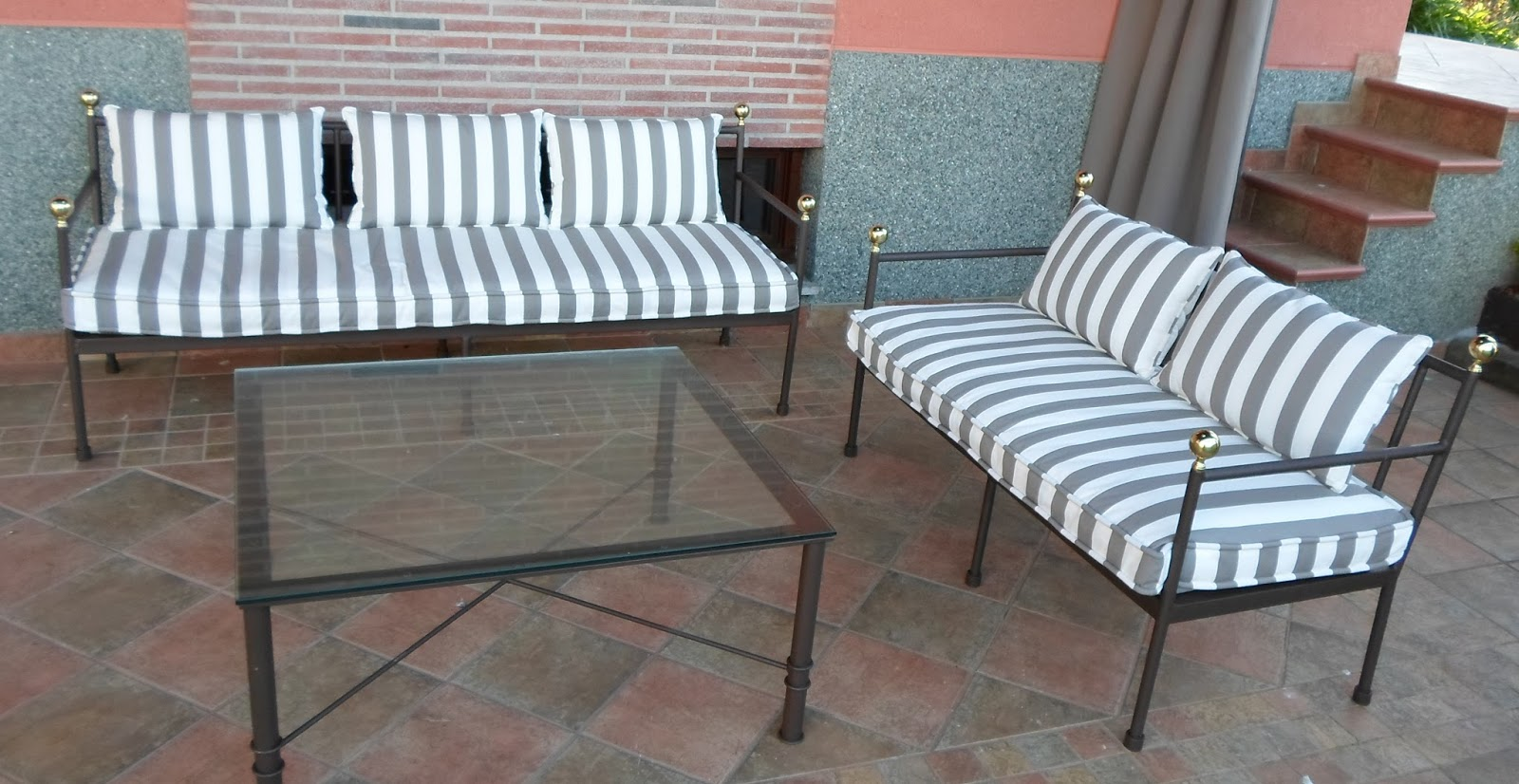 Cojines Para Sillones De Jardin Cheap Affordable Excellent  # Cojines Muebles Terraza