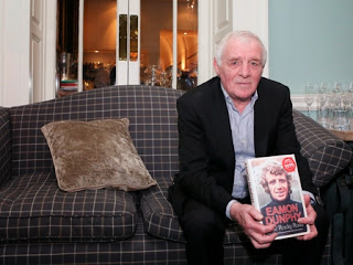 Eamon Dunphy pictured at the launch of his new book in Dublin this week.