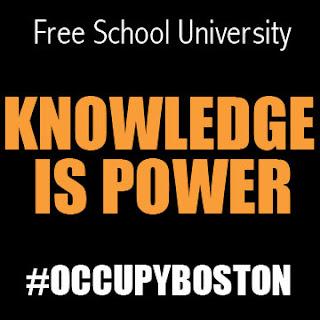 Occupy Boston Free School University