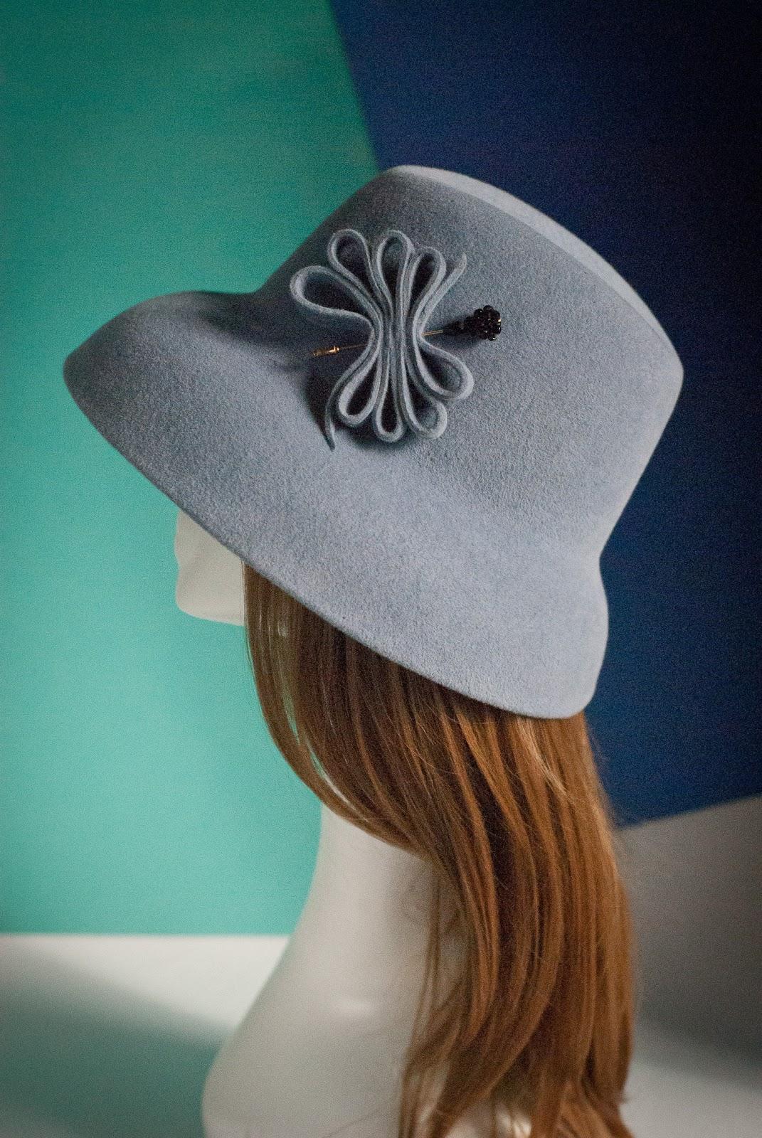 Украшение на шляпку своими руками 387