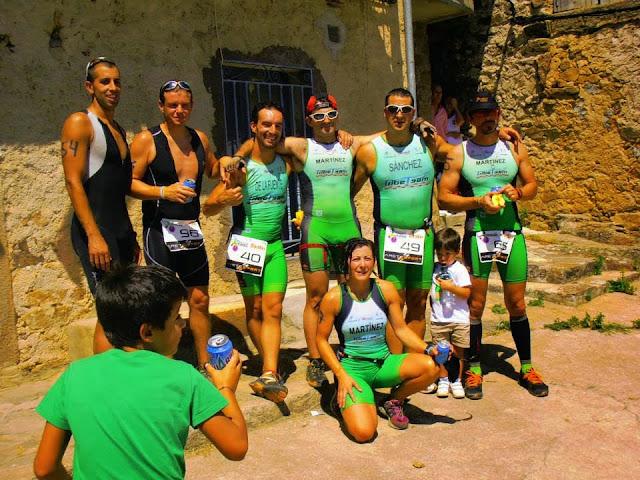Componente sdel tribe team de Béjar