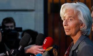 Lagarde admite errores importantes sobre Grecia por parte del FMI