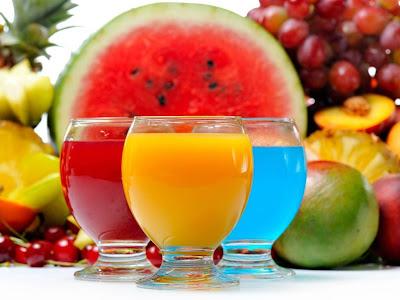 Ricos jugos frescos y nutritivos