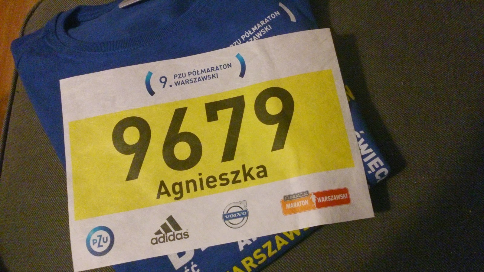 A jutro Półmaraton...