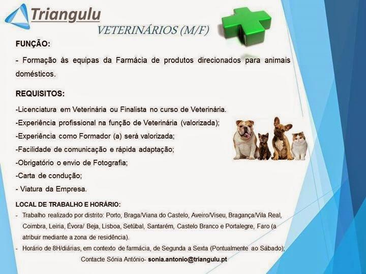 empregos para veterinarios