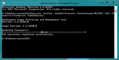 framework 3.5 installation