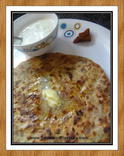 Recipe of Aloo Parantha - Yummy Punjabi Breakfast - Dhaba Style