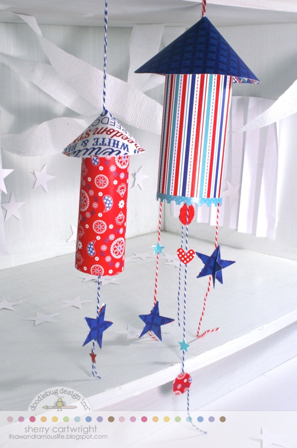 Doodlebug design inc blog stars stripes altered projects Stars and stripes home decor