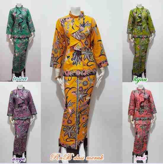 Busana Baju Batik Modern Dan Motif Terbaru  Pria Dan Wanita