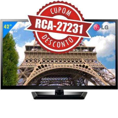Cupom Efácil - TV 42 LED Full HD LG 42LS4600