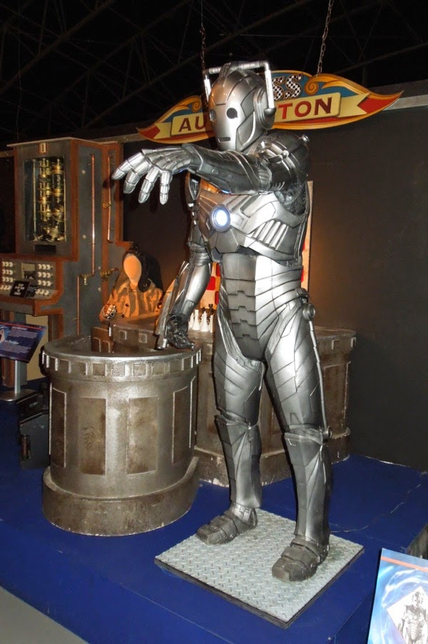 Hollywood Movie Costumes And Props Doctor Who Nightmare In Silver Cyberman Costume Props And