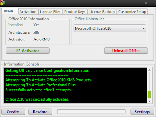 Cara Aktivasi Microsoft Office 2010