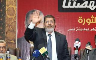 الرئيس محمد مرسي يؤدي اليمين الدستورية + كلمته في جامعة القاهرة 30-6-2012