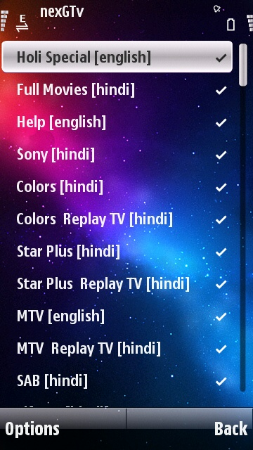 Mobile Tv live JAVA App - Downloadwapcom