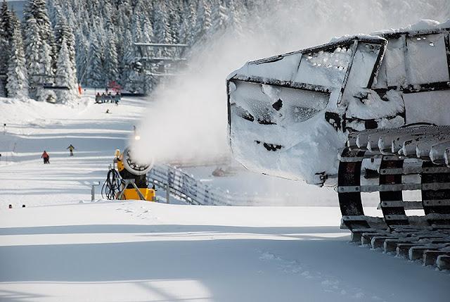 Sređivanje staze pred skijašku sezonu