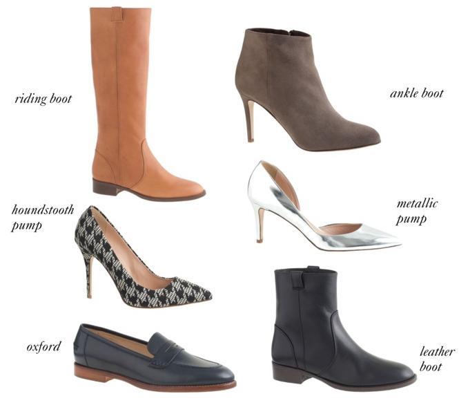 J.Crew Fall Shoe Sale