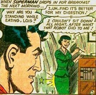 Superman funny comic picture