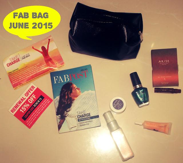 FAB BAG  June 2015